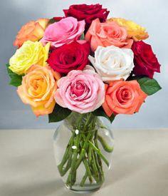 Pisan šopek vrtnic