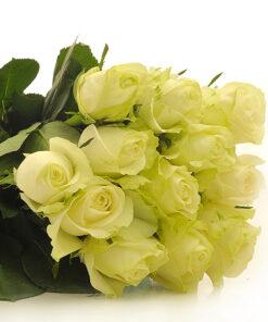 Šopek belih vrtnic