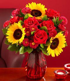 Sončnice in vrtnice