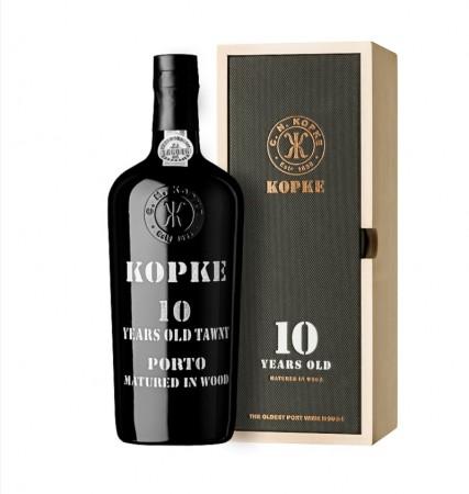Kopke 10 YO wooden box