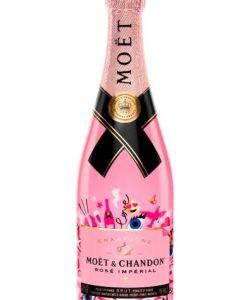 Šampanjec Moët & Chandon Rosé Impérial Emoji Edition