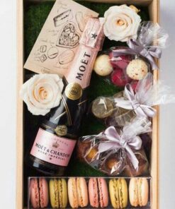 Moet and sweets