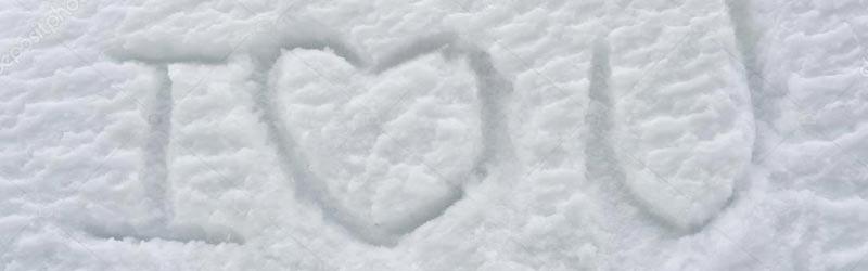 i love you v snegu kako osvojiti punco