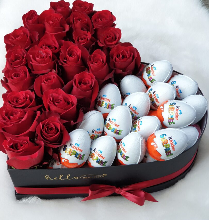 Rdeče vrtnice in Kinder jajčki
